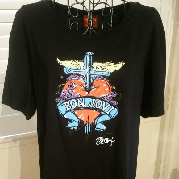 T-Shirt Hard Rock Bon Jovi